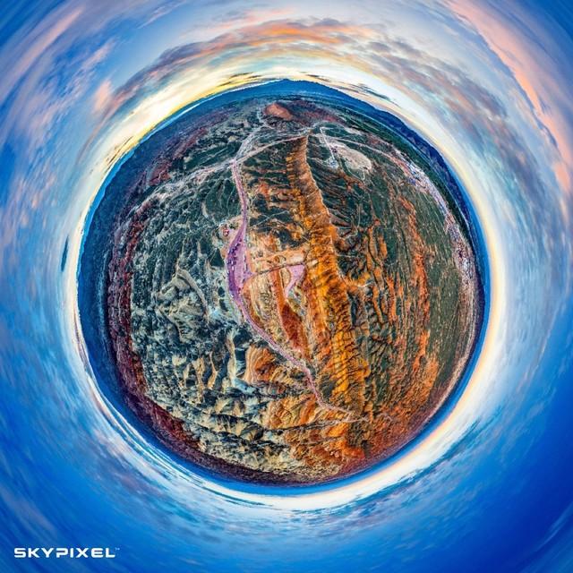 天空之城 从无人机的视角看世界
