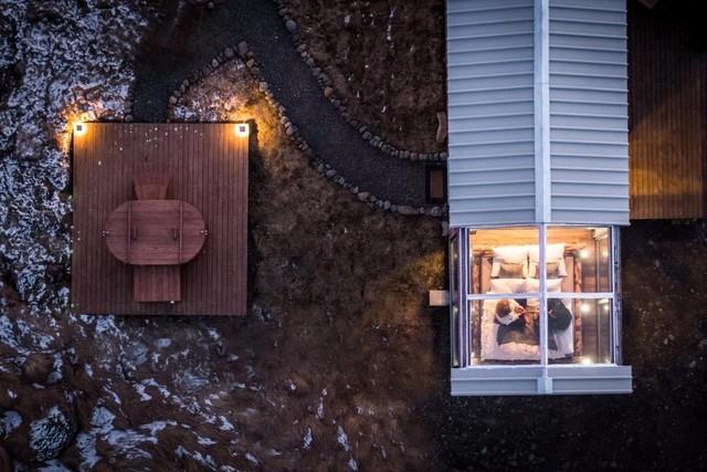 有生之年一定要去一次冰岛,住一次全景玻璃屋。