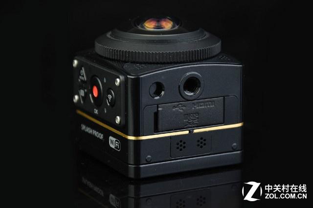 可拍摄4K 360°VR视频 柯达SP360 4K图赏