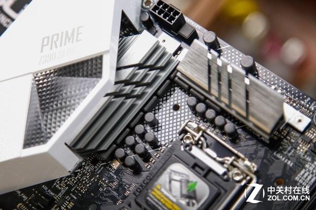 经典白色大师 华硕PRIME Z390-A图赏