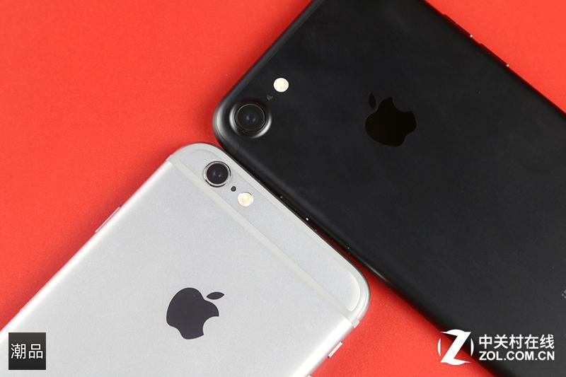 对比iPhone6s 苹果iPhone7 & Plus组图